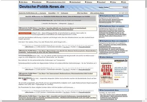 Bayern-24/7.de - Bayern Infos & Bayern Tipps | Foto: Screenshot Deutsche-Politik-News.de