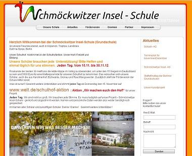 Berlin-News.NET - Berlin Infos & Berlin Tipps | Foto: Schmöckwitzer Insel-Schule (Grundschule) - Teilnehmer an der Schulhofaktion >> Wir machen euch den Hof << !