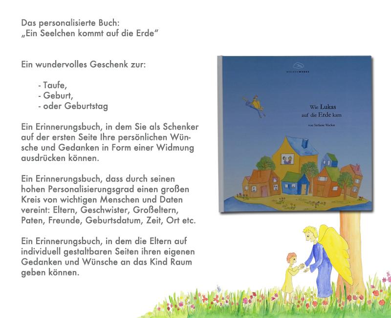 Einzigartiges Taufgeschenk Personalisiertes Kinderbuch