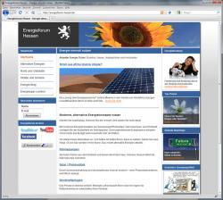 Alternative & Erneuerbare Energien News: Foto: Infos zur effizienten Energienutzung bietet das Energieforum Hessen.