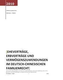 Ost Nachrichten & Osten News | Ost Nachrichten / Osten News - Foto: Eheverträge im deutsch-chinesischen Rechtsverkehr.