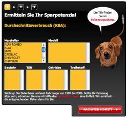 Autogas / LPG / Flüssiggas | Foto: Der Spritspar-Rechner ist auf www.lambdasonde.de zu sehen.