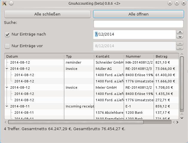 Berlin-News.NET - Berlin Infos & Berlin Tipps | Die neuen Such- und Filtermöglichkeiten der Transaktionsliste