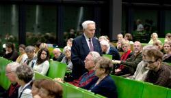Historisches @ Historiker-News.de | Historiker News DE. Foto: Prof. Felix Kolmer schilderte zahlreichen Gästen an der Hochschule Harz (FH) kürzlich eindrucksvoll seine Erinnerungen in die Zeit des Nationalsozialismus.