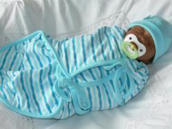 Babies & Kids @ Baby-Portal-123.de | Foto: Pucksack für Frühchen und sehr kleine Babies.