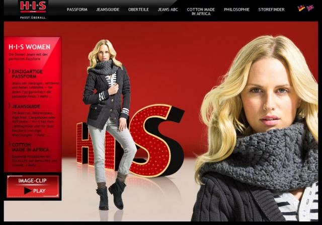Hamburg-News.NET - Hamburg Infos & Hamburg Tipps | Die neue H.I.S Website: Der Womens-Bereich bietet den Kundinnen nun noch mehr Informationen rund um die perfekte Jeans-Passform, auf die bei H.I.S ein besonderer Schwerpunkt liegt.