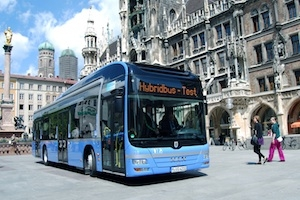 Auto News | MAN Hybridbus