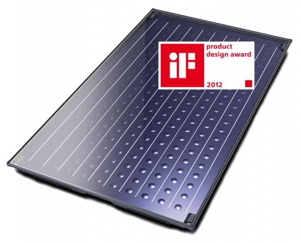 Berlin-News.NET - Berlin Infos & Berlin Tipps | Der neue Buderus Solarkollektor Logasol SKN 4.0 wurde vom Industrie Forum Design e.V. mit dem