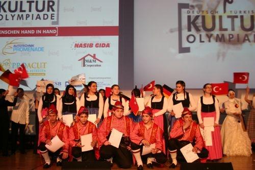 Die Gewinner der Deutsch-Türkischen Kulturolympiade