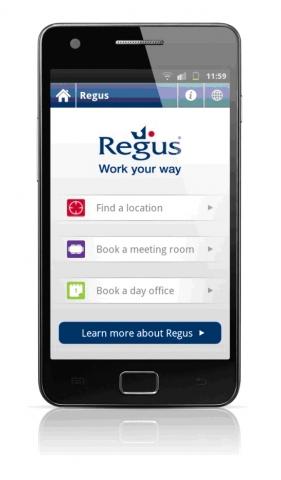 Kleinanzeigen News & Kleinanzeigen Infos & Kleinanzeigen Tipps | Regus veröffentlicht seine Android-App und bietet damit mehr Mobilität für flexible Arbeitsplatzlösungen