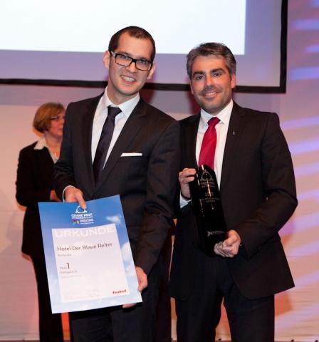 Hotel Infos & Hotel News @ Hotel-Info-24/7.de | v.l.n.r.: Tagungsleiter Johannes Hausen und Hotelleiter Marcus Fränkle