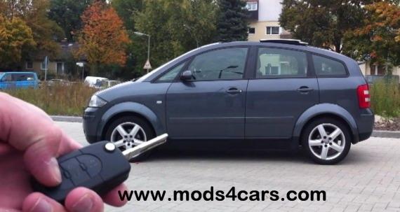 Suedafrika-News-247.de - Südafrika Infos & Südafrika Tipps | RemoteKEY Komfortsteuerung der Firma Mods4cars für Audi A2