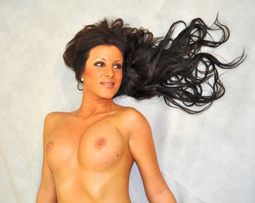Fotomodell Tina Hercog