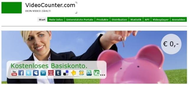 Shopping -News.de - Shopping Infos & Shopping Tipps | VideoCounter.com startet kostenlose Version für Viral Clip Seeding auf Social-Media- und Videoportale