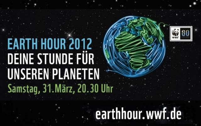 Tickets / Konzertkarten / Eintrittskarten | WWF Earth Hour 2012 am 31. März 2012 um 20:30 Uhr: Deine Stunde für unseren Planeten. http://earthhour.wwf.de