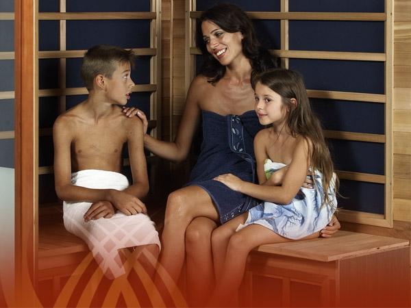 Infrarotwärmekabine der my-sauna GmbH
