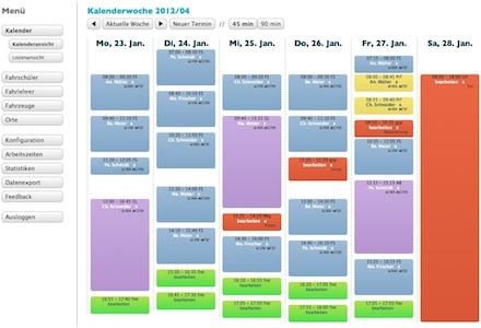 Der Online-Fahrstundenplaner (fahrstundenplaner.de) ist die Fahrschulsoftware, die Online-Buchungen möglich macht