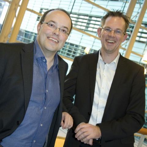 Grossbritannien-News.Info - Großbritannien Infos & Großbritannien Tipps | Tim van Hugte (links), Jeroen Huinink (rechts), Aia Software