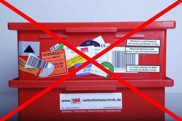 Sport-News-123.de | Transportbehälteretiketten