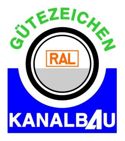 Haussanierung: | RAL Gütezeichen Kanalbau