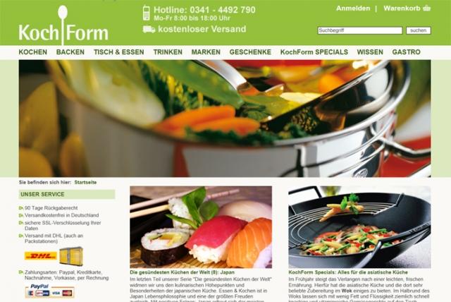 Einkauf-Shopping.de - Shopping Infos & Shopping Tipps | Startseite www.kochform.de