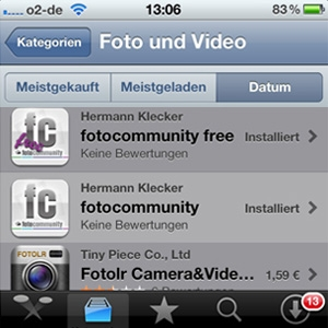 CMS & Blog Infos & CMS & Blog Tipps @ CMS & Blog-News-24/7.de | fotocommunity App für iOs und Android