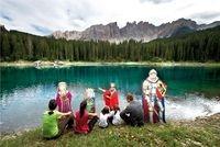 Podcasts @ Open-Podcast.de: Familienurlaub Südtirol: Am Fuß von Rosengarten und Latemar verbringen Eltern und Kinder einen