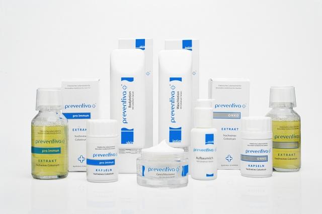 preventiva hochreines Colostrum gibt es in verschiedenen Darreichungsformen für unterschiedliche Anwendungsgebiete