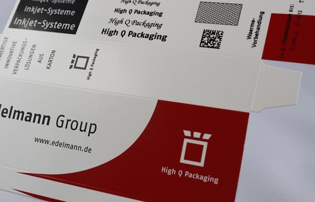 Tickets / Konzertkarten / Eintrittskarten | Edelmann bietet seinen Kunden die Option der Late-Stage-Customization und -Finalisation an.