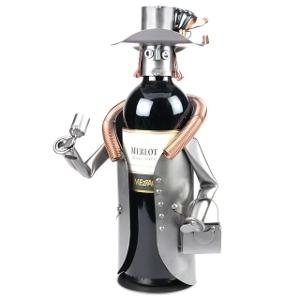 Ostern-247.de - Infos & Tipps rund um Geschenke   Schraubenmännchen Weinhalter - das kreative Geschenk