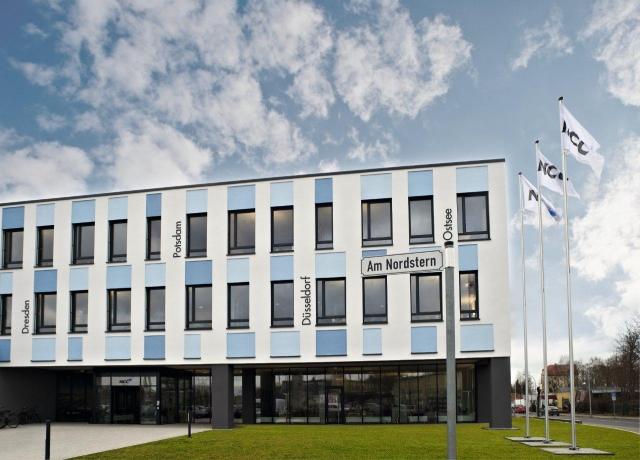 Rom-News.de - Rom Infos & Rom Tipps | Fürstenwalde: Ansicht der neuen Deutschlandzentrale von NCC