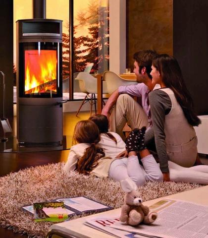 Fertighaus, Plusenergiehaus @ Hausbau-Seite.de | Hersteller aus dem Sauerland bietet 4-kW-Öfen in großer Auswahl