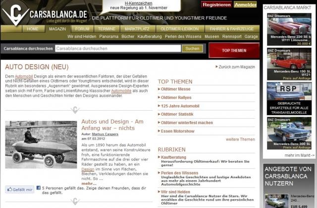 Auto News | Interessante Informationen und Details in der neuen Rubrik