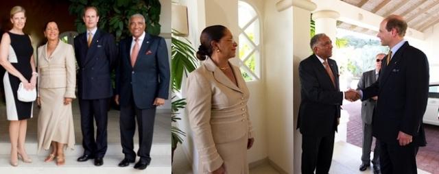 Hotel Infos & Hotel News @ Hotel-Info-24/7.de | Sir Royston Hopkin und Lady Hopkin empfangen den Grafen und die Gräfin von Wessex im Spice Island Beach Resort