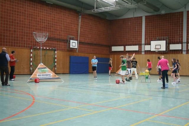 Sport-News-123.de | SIXCUP  die neue Sportart begeistert im Schulsport