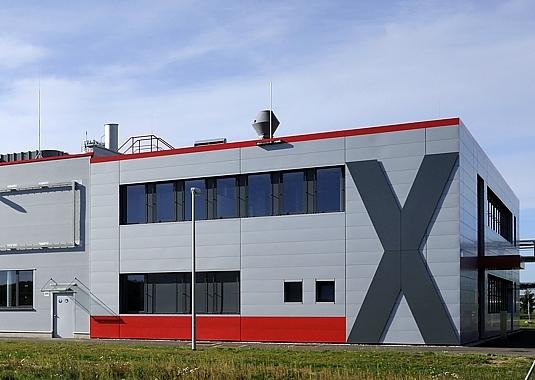 Sachsen-Anhalt-Info.Net - Sachsen-Anhalt Infos & Sachsen-Anhalt Tipps | Der von LINDSCHULTE geplante Kopfbau der LANXESS-Produktionsanlage für Membran-Filtrationstechnologie am Chemiestandort Bitterfeld.