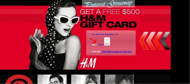 Auto News | Spammer locken Pinterest-Nutzer mit virtuellen Geschenkkarten