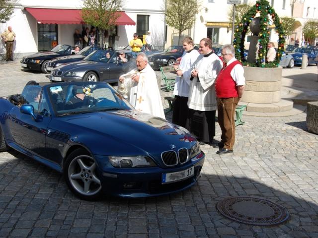 Wellness-247.de - Wellness Infos & Wellness Tipps | Z3 Roadster Fahrzeugweihe in Schoenberg