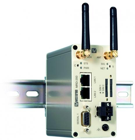 Amerika News & Amerika Infos & Amerika Tipps | Der zweite SIM-Kartenslot des UMTS-Routers MRD-350 sorgt für Ausfallsicherheit und den Aufbau von Backup-Verbindungen