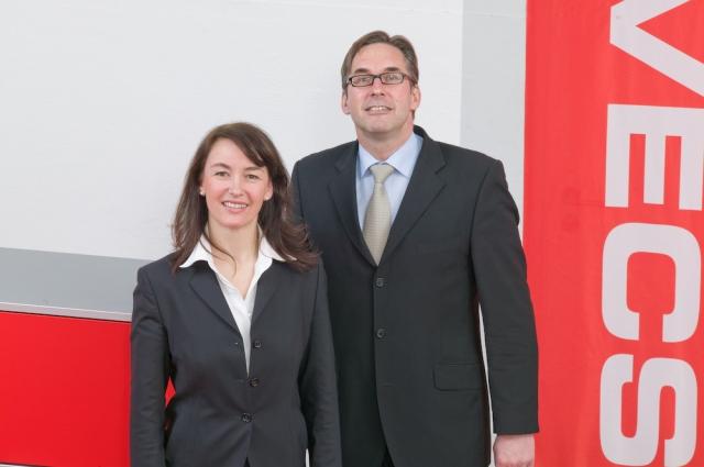Katrin Wenzler und Josef Bailer, Marvecs-Geschäftsführer