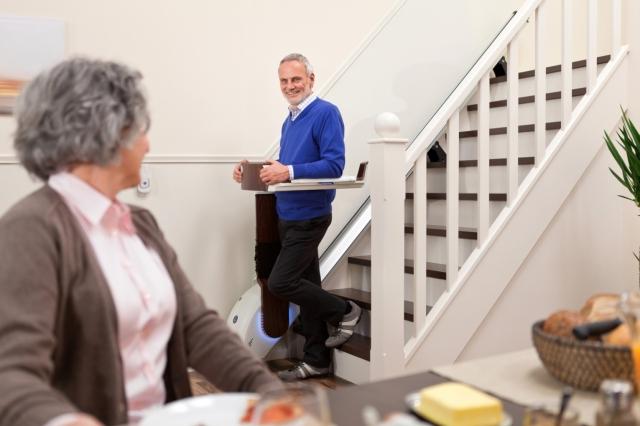 Aktives Treppensteigen mit dem StairWalker