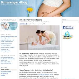 Schwanger-blog.de informiert (werdende) Eltern über Schwangerschaft, Geburt, Baby und Kinderwunsch