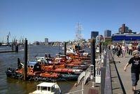 Restaurant Infos & Restaurant News @ Restaurant-Info-123.de | Fadtour Hamburg: Die Landungsbrücken sind ein Wahrzeichen von Hamburg und Bestandteil der Sternradtour.