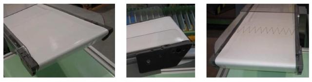 Technik-247.de - Technik Infos & Technik Tipps | Adhäsionsgurtförderer mit rollender Messerkante