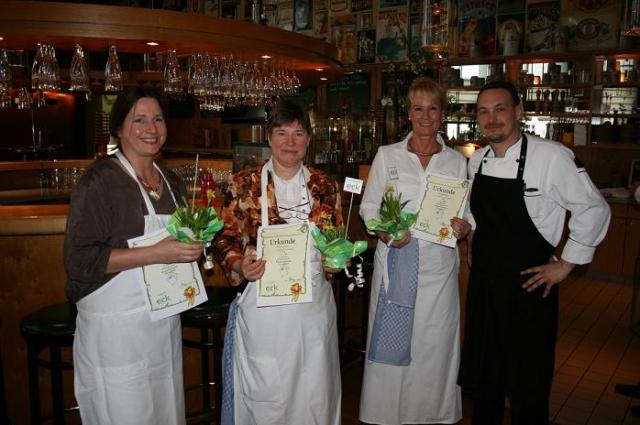 TV Infos & TV News @ TV-Info-247.de | Die drei Finalistinnen des Kochwettbewerbs