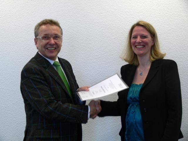 London-News.Info - London Infos & London Tipps | Prof. Dr. Maja Hartung mit CBS-Präsident Jürgen Weischer