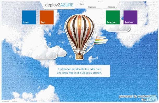 App News @ App-News.Info | contentXXL launcht deploy2AZURE.com