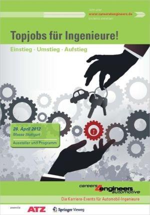 Wiesbaden-Infos.de - Wiesbaden Infos & Wiesbaden Tipps | Coverabbildung des Programmhefts zur careers4engineers automotive Stuttgart 2012