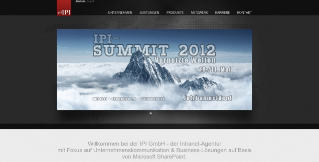 Baden-Württemberg-Infos.de - Baden-Württemberg Infos & Baden-Württemberg Tipps | Die Webpage der IPI GmbH wurde mit SharePoint-Technologie realisiert - ein Praxisbeispiel