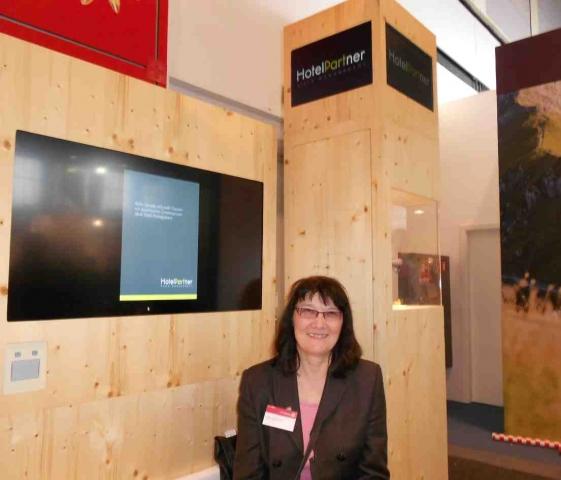 Petra Lindemann, verantwortlich für den Deutschlandvertrieb der HotelPartner GmbH